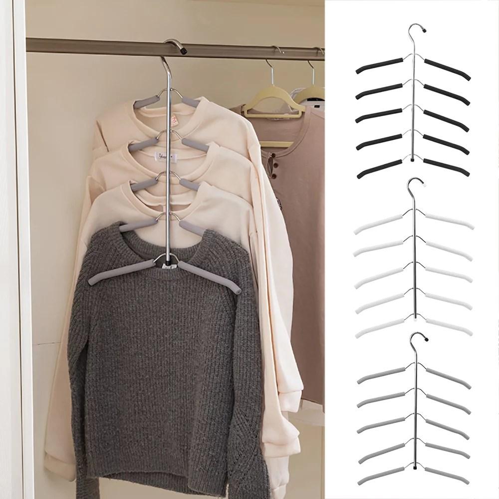 Beautifule Multi-function Save Closet Space Clothe ... on Closet Space Savers Walmart  id=80042