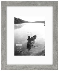 11x14 16x20 gray matted picture frame