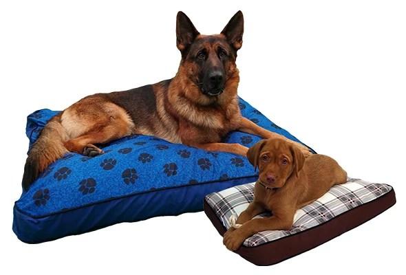 mypillow pet beds medium blue