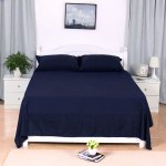 1800tc Microfiber Pillowcases Flat And Fitted Sheet Bedding Set Black Queen Bedding For Home Walmart Com Walmart Com