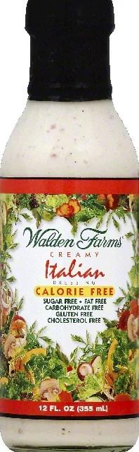 Walden Farms Dressing Creamy Italian Walmartcom