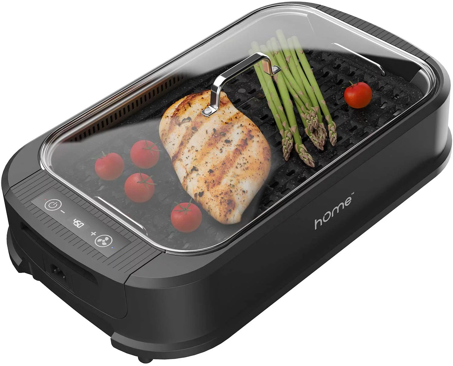 hOmeLabs Smokeless Indoor Electric Grill - Removable Non ... on Indoor Non Electric Heaters id=38949