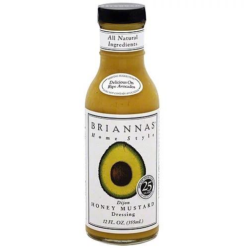 Brianna39s Dijon Honey Mustard Dressing 12 oz Pack of 6