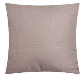 mainstays solid decorative throw pillow 16 x 16 tan
