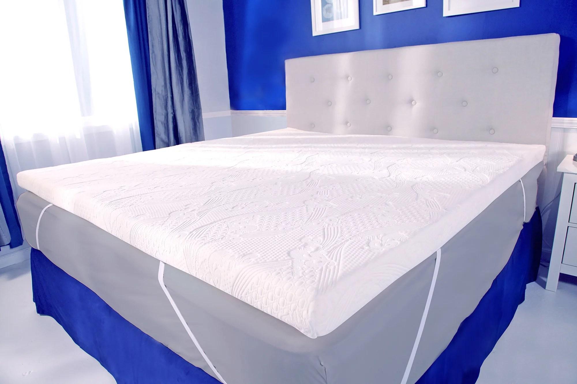 mypillow 2 mattress topper king size walmart com
