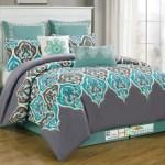 Turquoise Comforter Set King Comfort