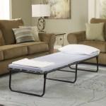 Simmons Beautysleep Folding Guest Bed With Springs And Memory Foam Mattress Cot Walmart Com Walmart Com