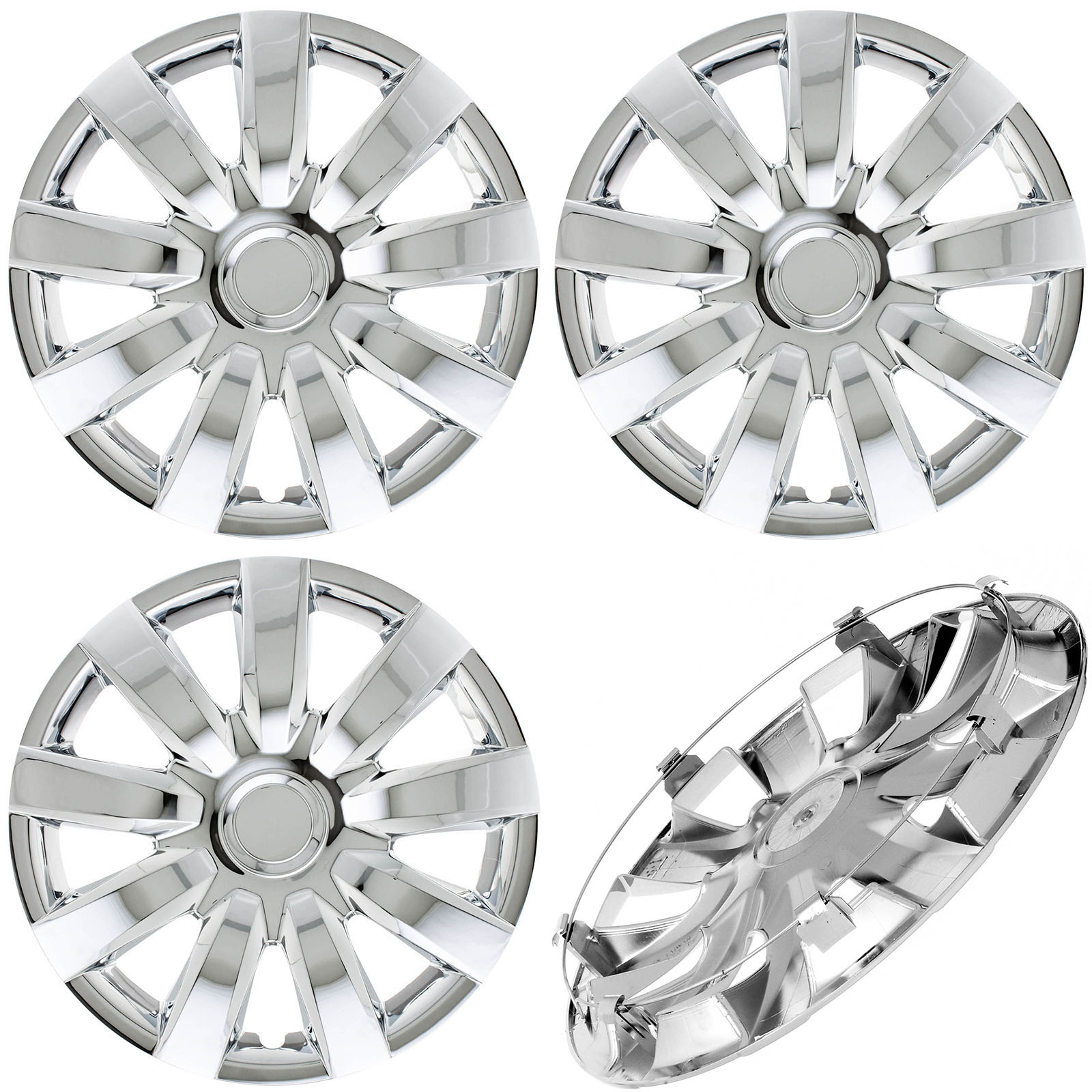 Cover Trend (Set of 4) CHROME Hub Caps Fits 2000-2005 ...