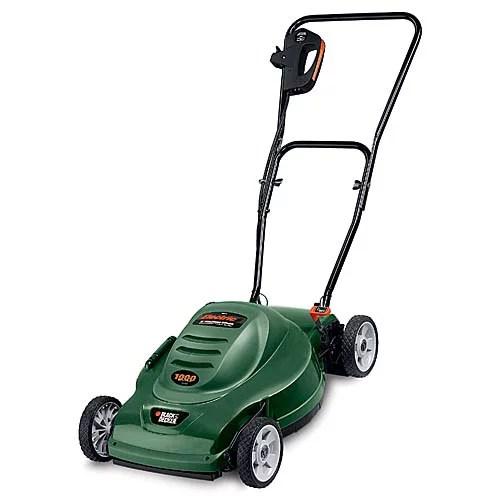 "Black & Decker 18"" Electric Mulching Lawn Mower"