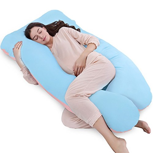 queen rose 61 pregnancy pillow full body pillowu shaped maternity pillow for pregnant women with washable outer cover unique