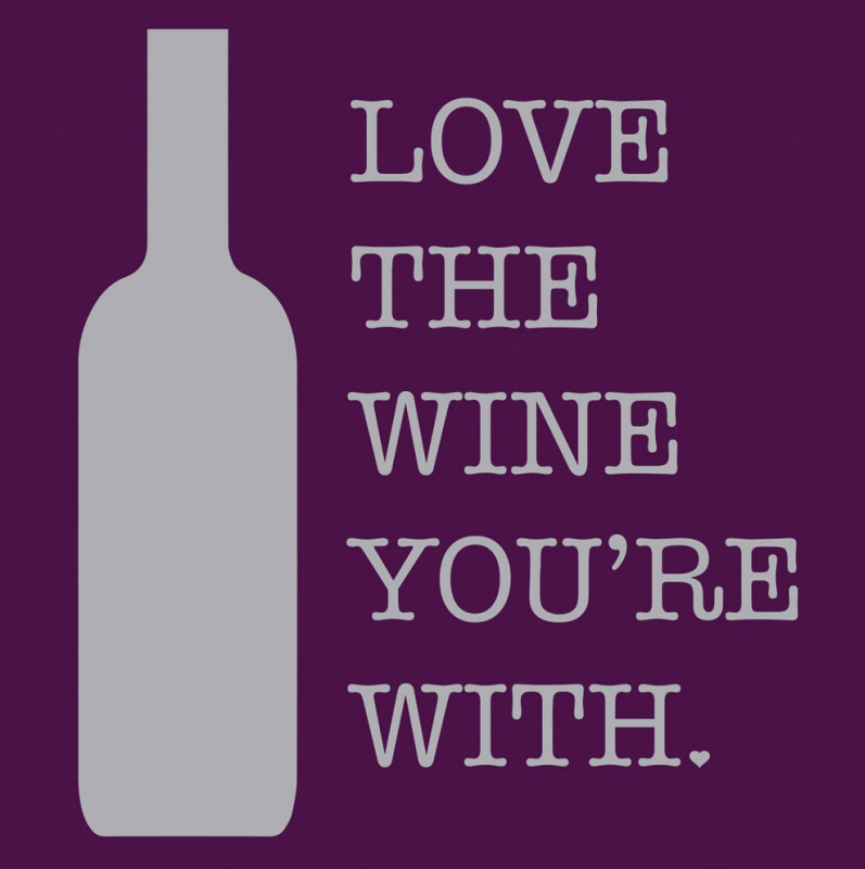 Download Love The Wine You're With Cocktail Napkins - Walmart.com
