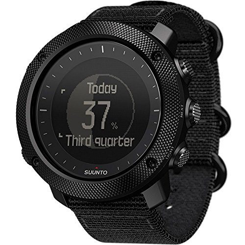 Suunto Traverse Alpha Stealth Watch, Black