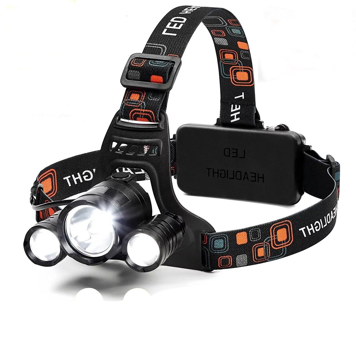 Hard Hat Flashlight Head