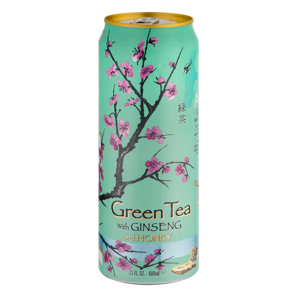 Arizona Green Tea With Ginseng Honey 23 oz Walmartcom