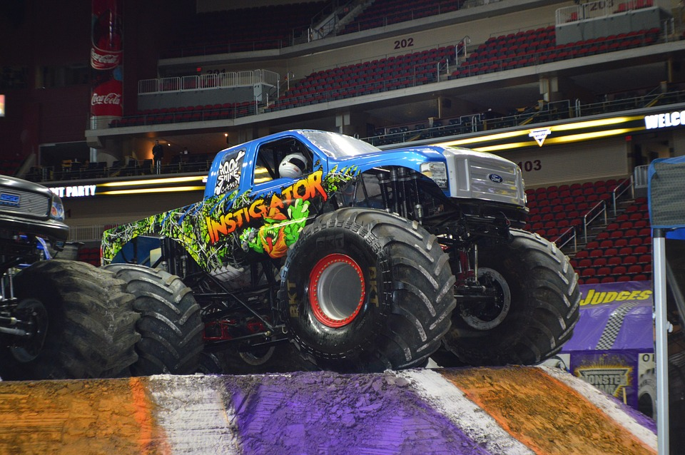 Monster Jam Motorsports Instigator Monster Truck 20 Inch By 30 Inch Laminated Poster With Bright Colors And Vivid Imagery Fits Perfectly In Many Attractive Frames Walmart Com Walmart Com
