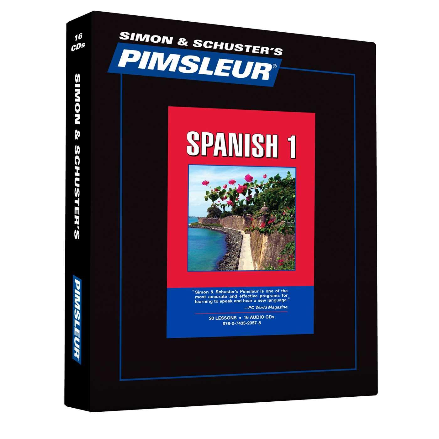Pimsleur Spanish Level 1 Cd Learn To Speak And