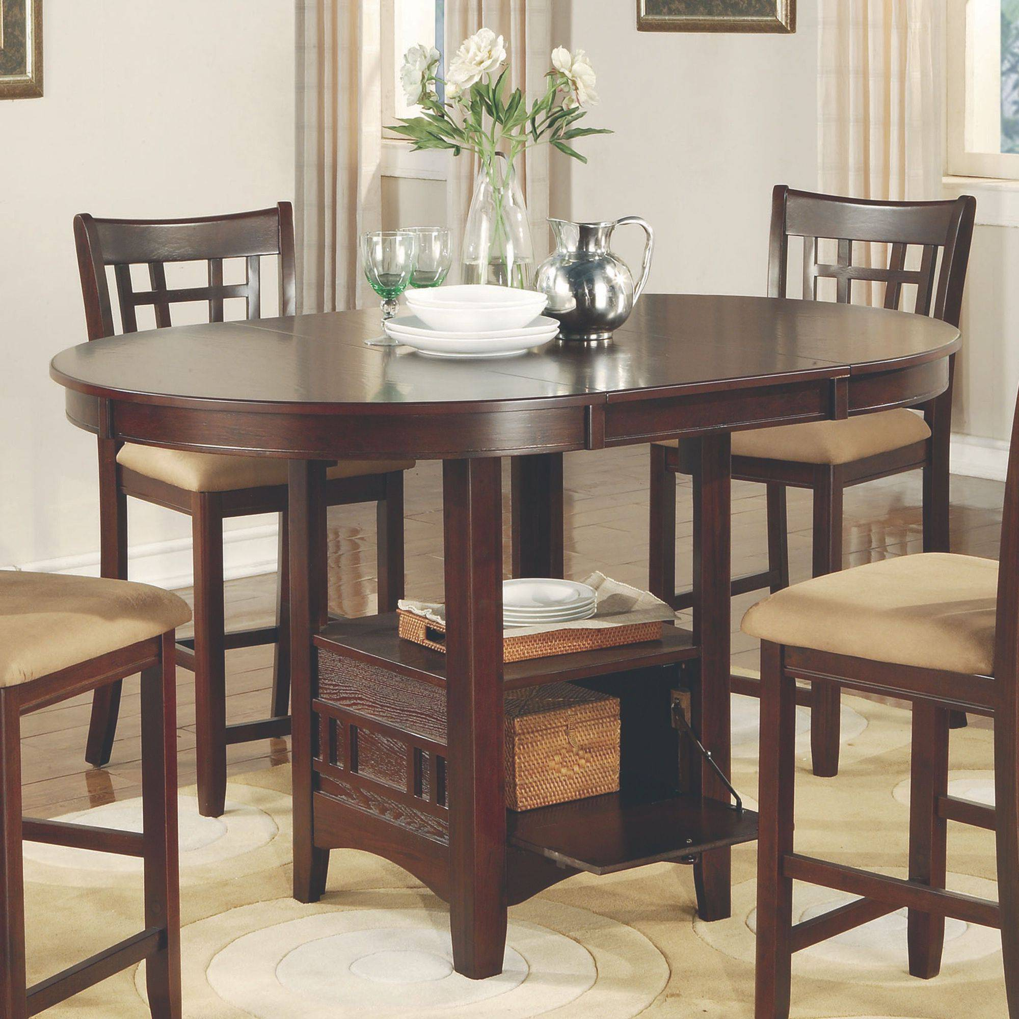 Kitchen Dining Counter High Tables Walmart Com