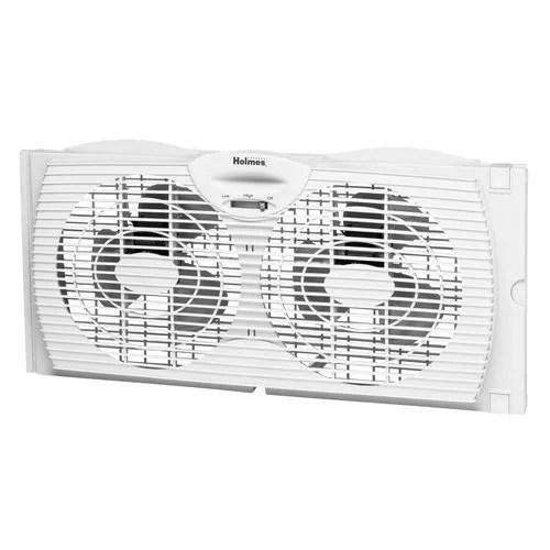 holmes hawf2021 wmum dual blade twin window fan
