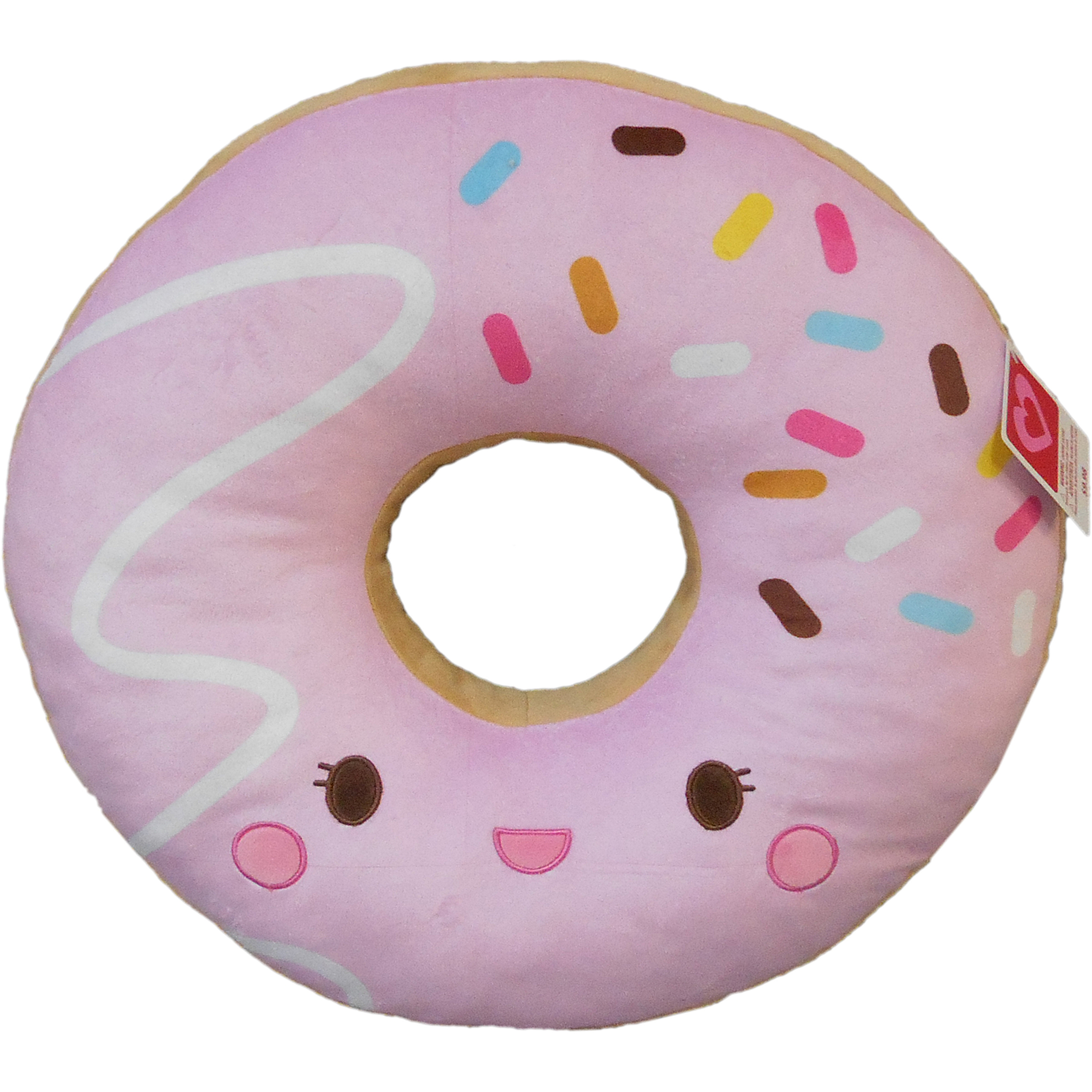 valentine s day 18 donut plush pillow