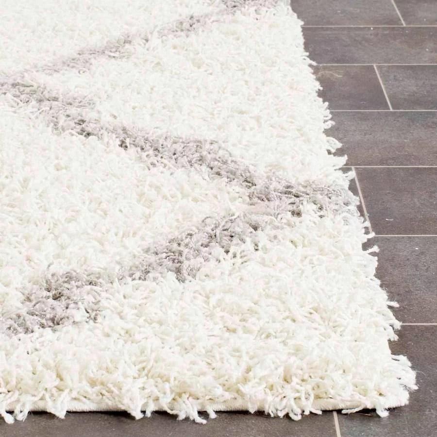 safavieh dallas logan geometric shag area rug or runner