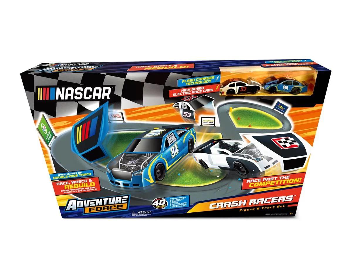 adventure force crash racers figure 8 circuit walmart com
