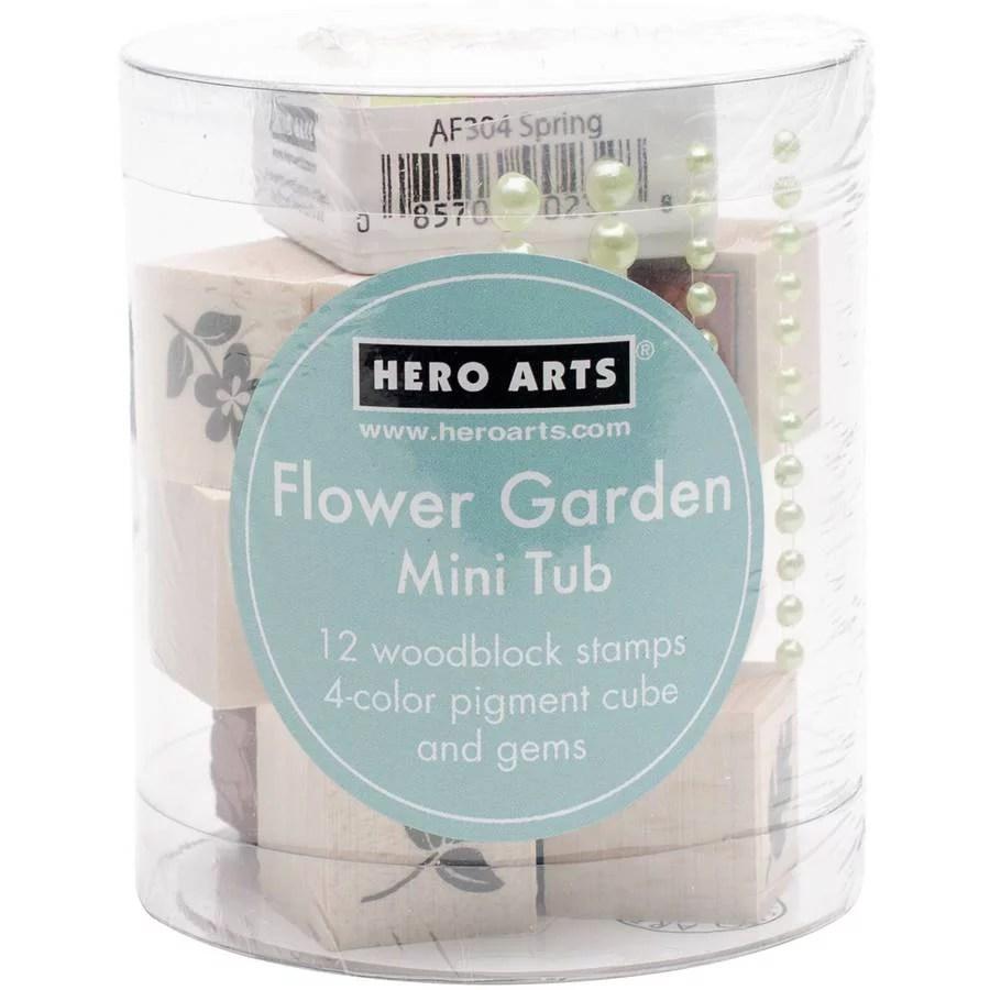 UPC 085700905121 Hero Arts Mounted Rubber Stamp Mini Tub