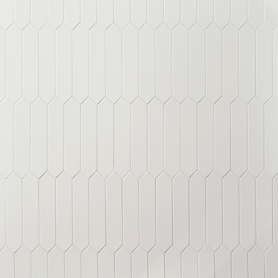 bond tile lois white polished 2 6 in x 13 in elongated hex ceramic wall tile 12 26 sq ft case
