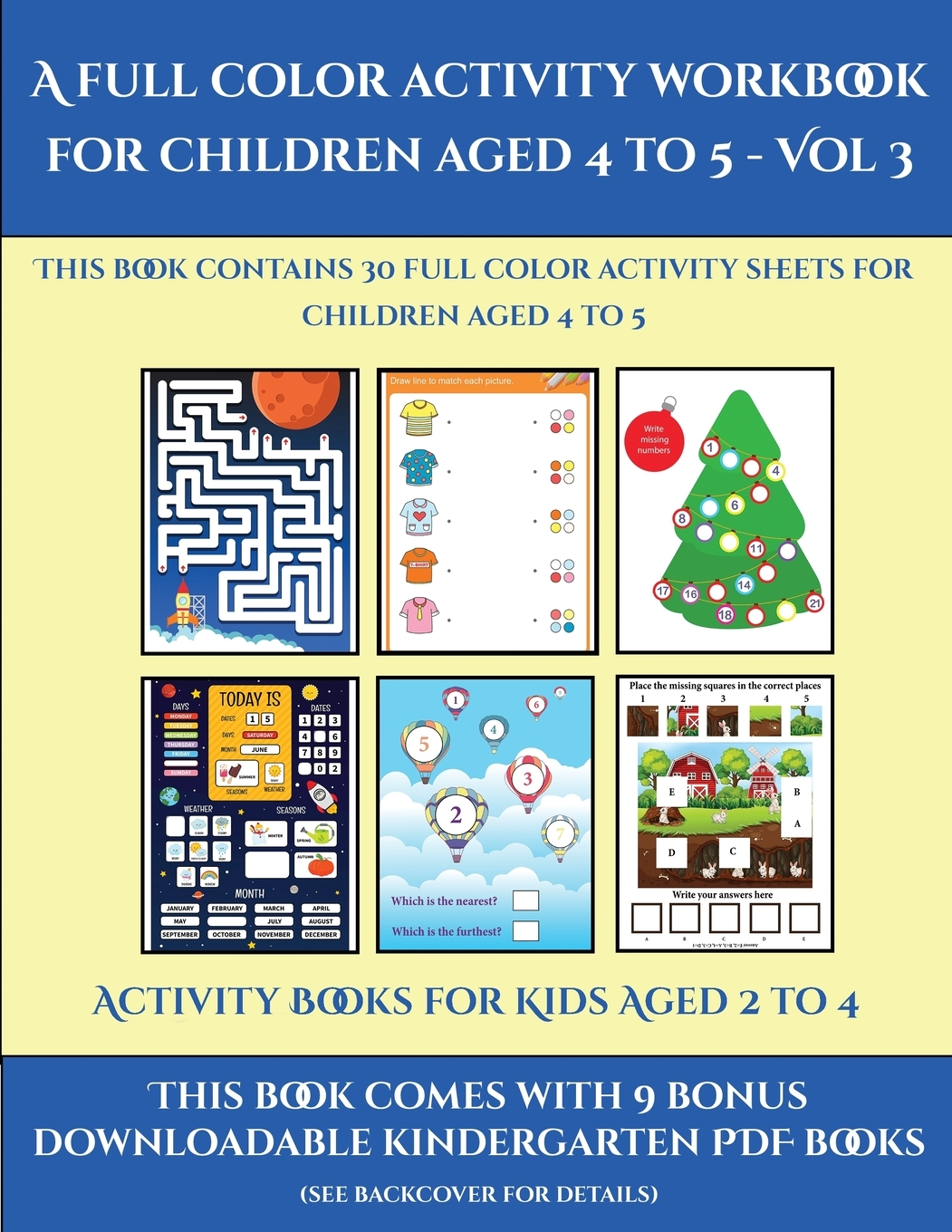Activity Books For Kids Aged 2 To 4 Activity Books For