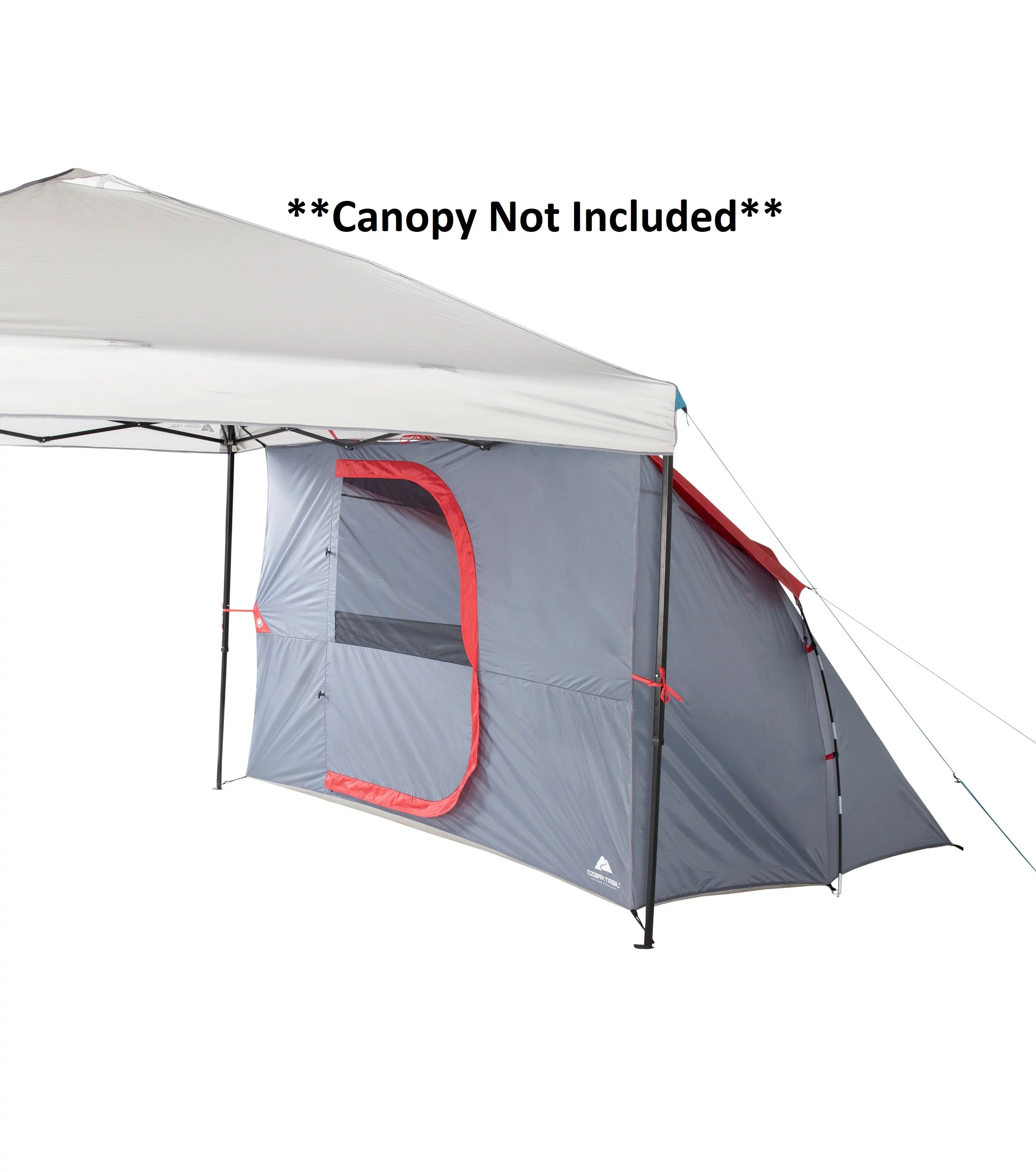 ozark trail connectent 4 person canopy tent straight leg canopy sold separately