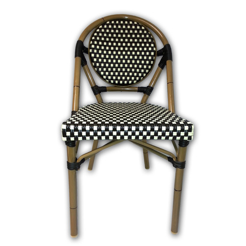 string light company french cafe bistro patio dining chair