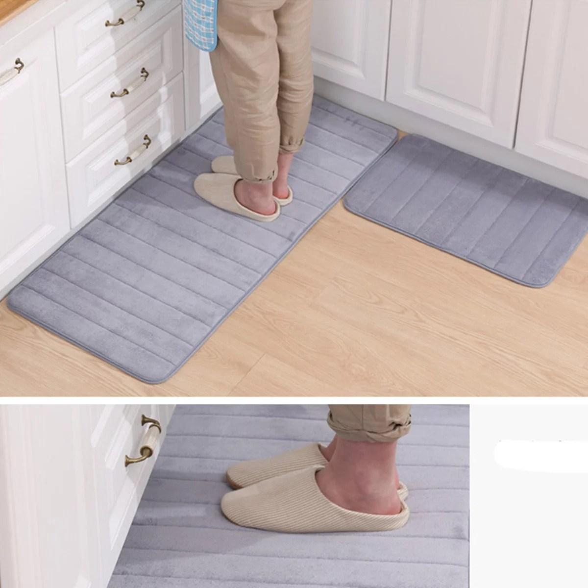 20 x30 62 x20 memory foam mat absorbent slip resistant on farmhouse colors for bath mats walmart id=19651