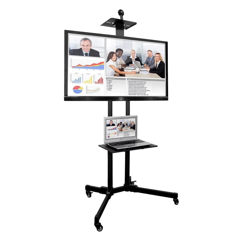 meuble tv universel pour chariot de television mobile avec support chariot avec etagere pour appareil photo pour led 37 70 pouces lcd ecran plasma