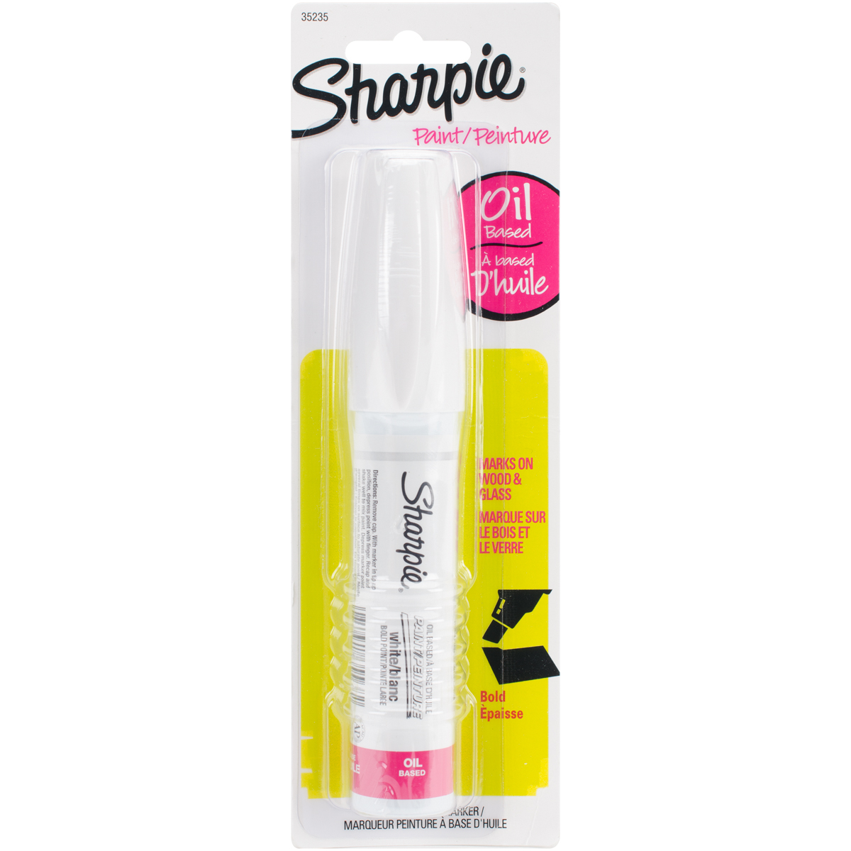 Sharpie Bold Point Oil Based Poster Paint Marker White Walmart Canada