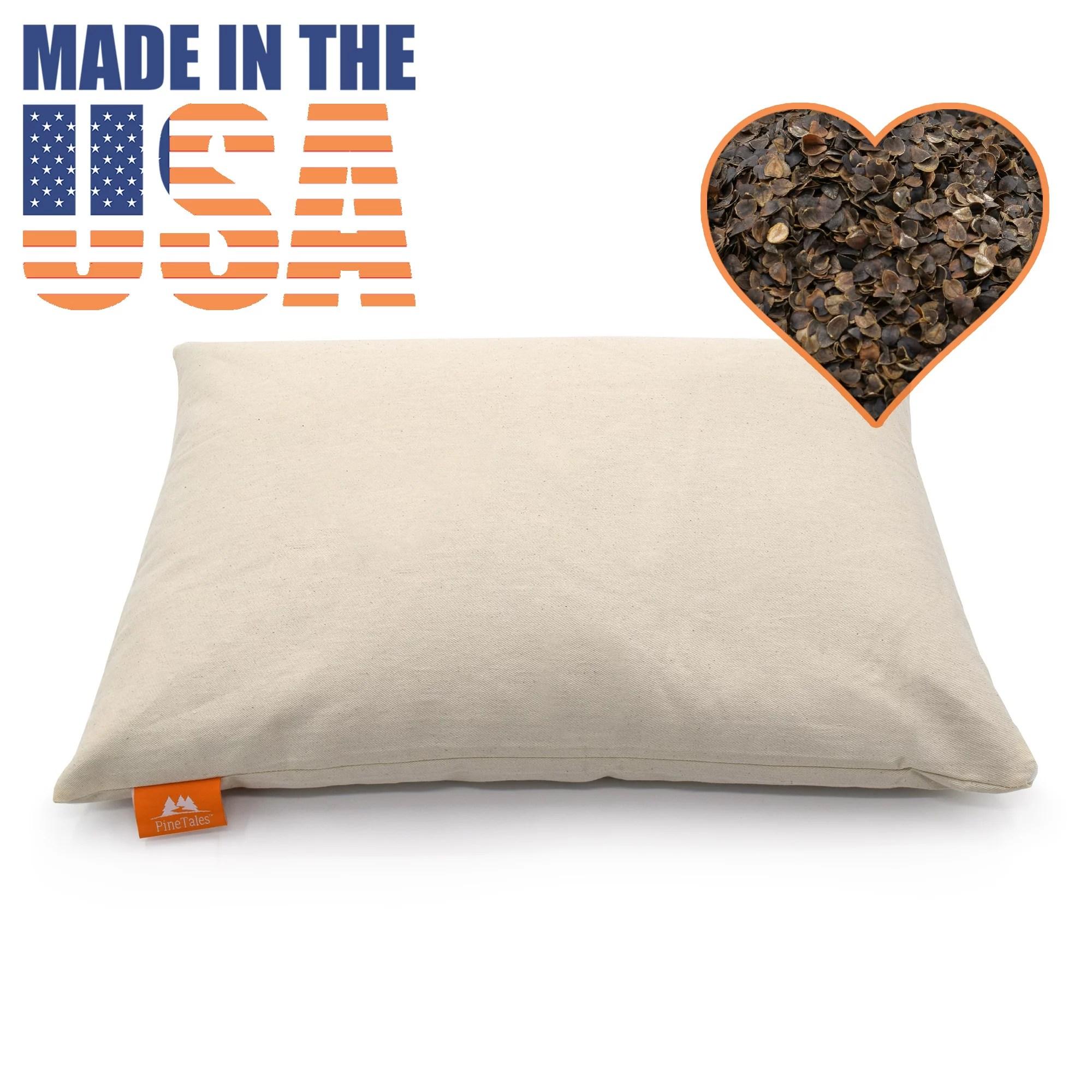 buckwheat pillow sobakawa pillow 14 x 20 japanese size