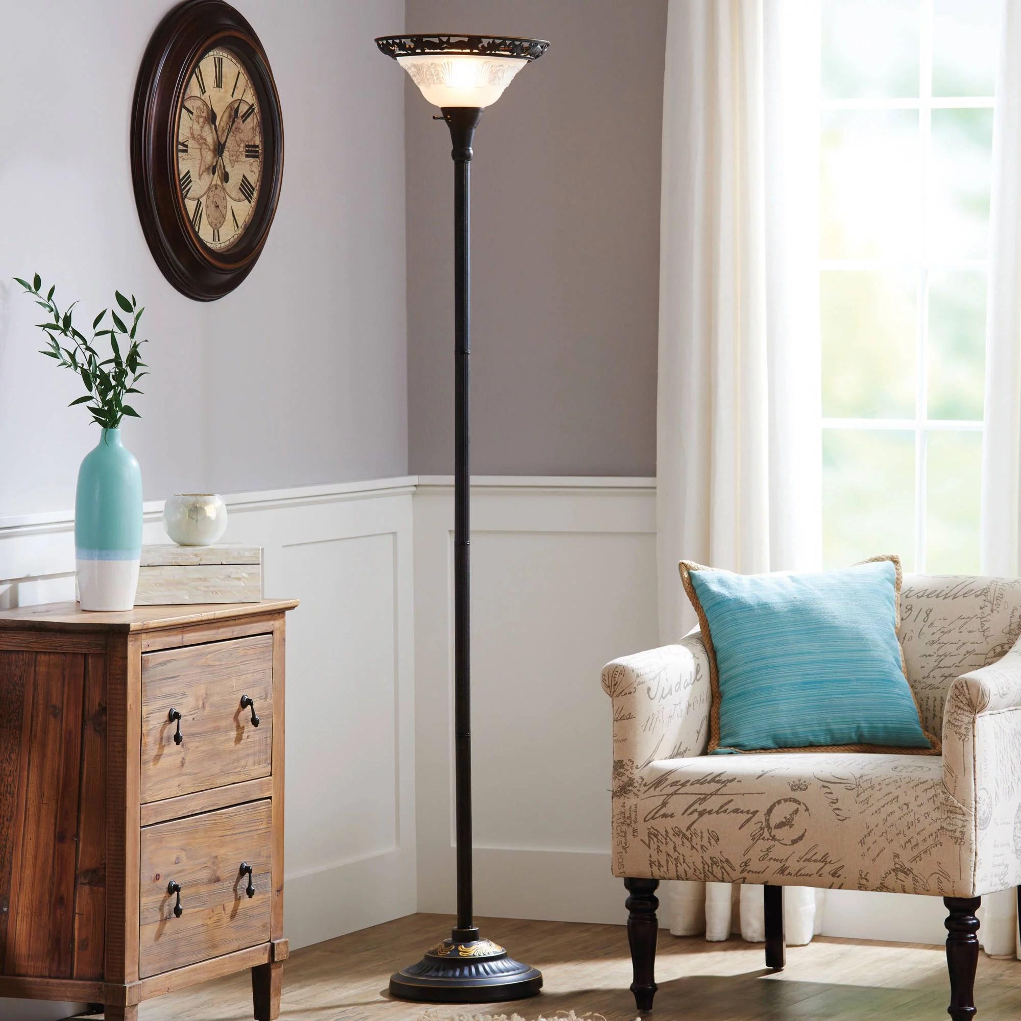 better homes gardens 70 bronze victorian floor lamp