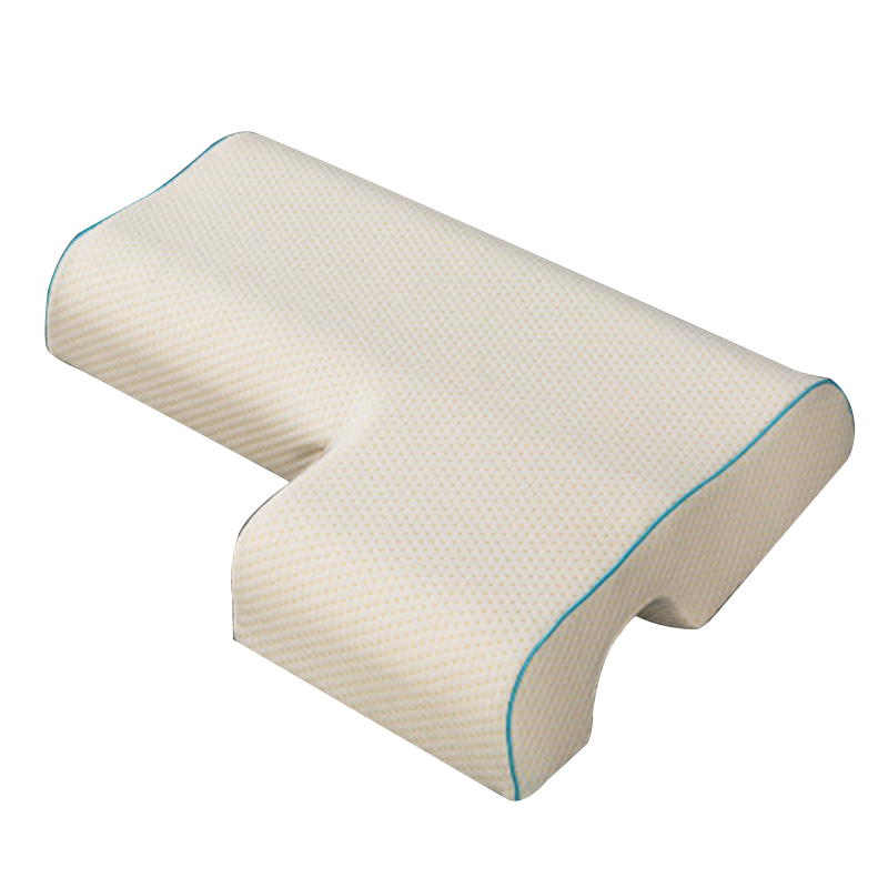 couples pillow arched cuddle pillow with slow rebound memory foam for arm rest hand pillow
