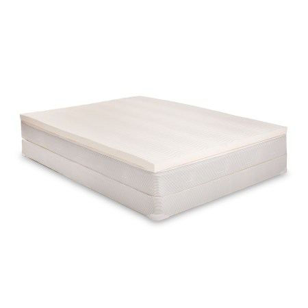 Eluxurysupply 100 Latex Mattress Topper No Fillers Reversible With 2 Firmnesses