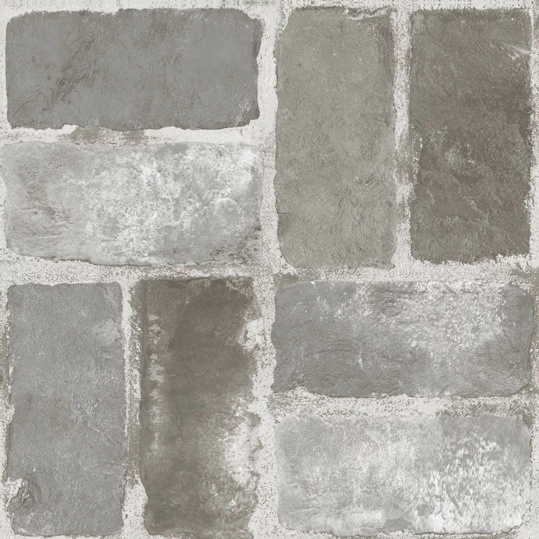 floorpops virgin vinyl grey fp3294 harvard brick grey peel stick floor tiles