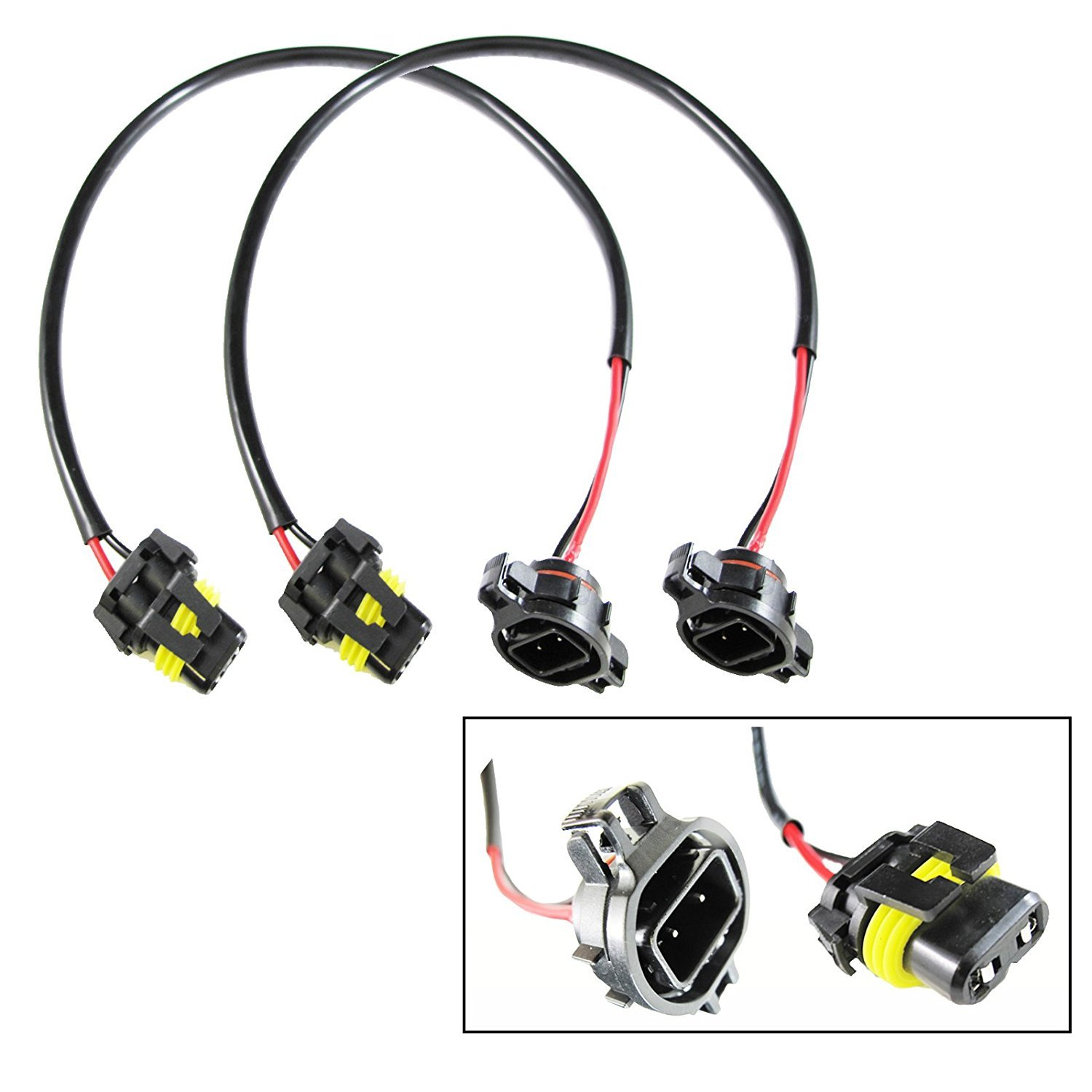 Xotic Tech H16 Wire Harness For Hid Ballast To Stock