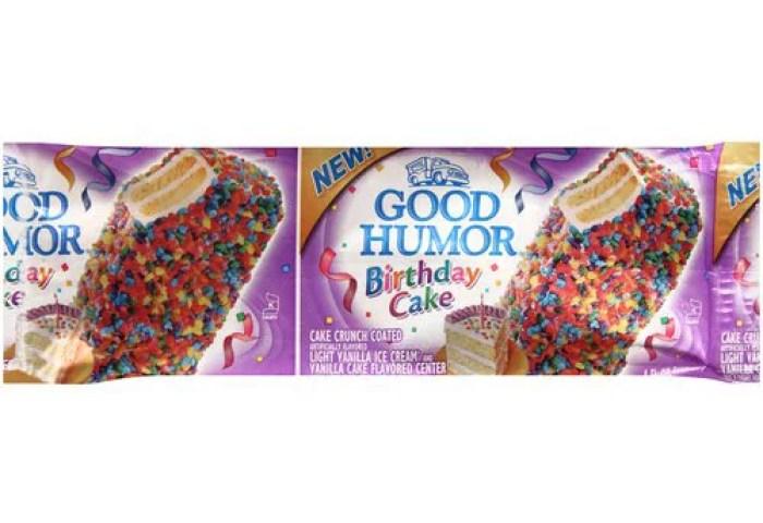 Good Humor Birthday Cake Ice Cream Bar 4 Oz Walmartcom