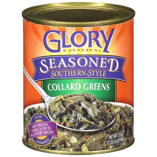 Glory Foods Seasoned Southern Style Collard Greens With