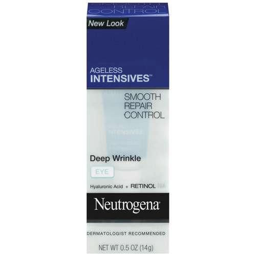Neutrogena Ageless Intensives Smooth Repair Control Deep Wrinkle Eye Cream, .5 oz