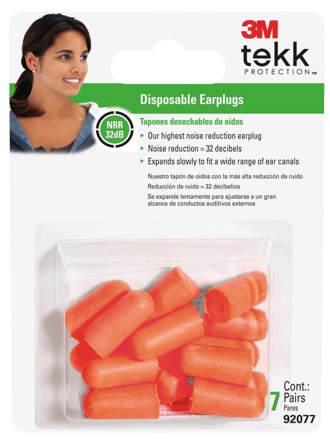 3M TEKK Protection Lawn and Garden Earplugs