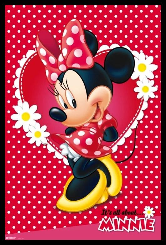 Disney Minnie Mouse Poster Poster Print Walmart Com
