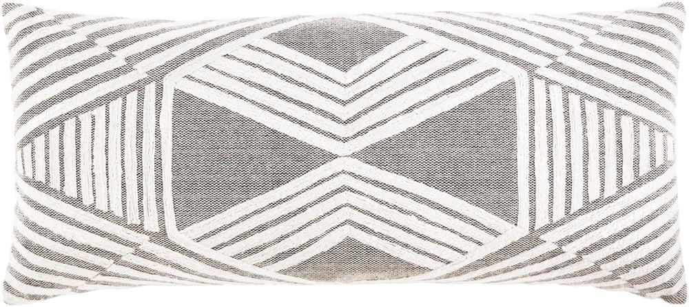 surya izie modern lumbar pillow cover izi002 3214