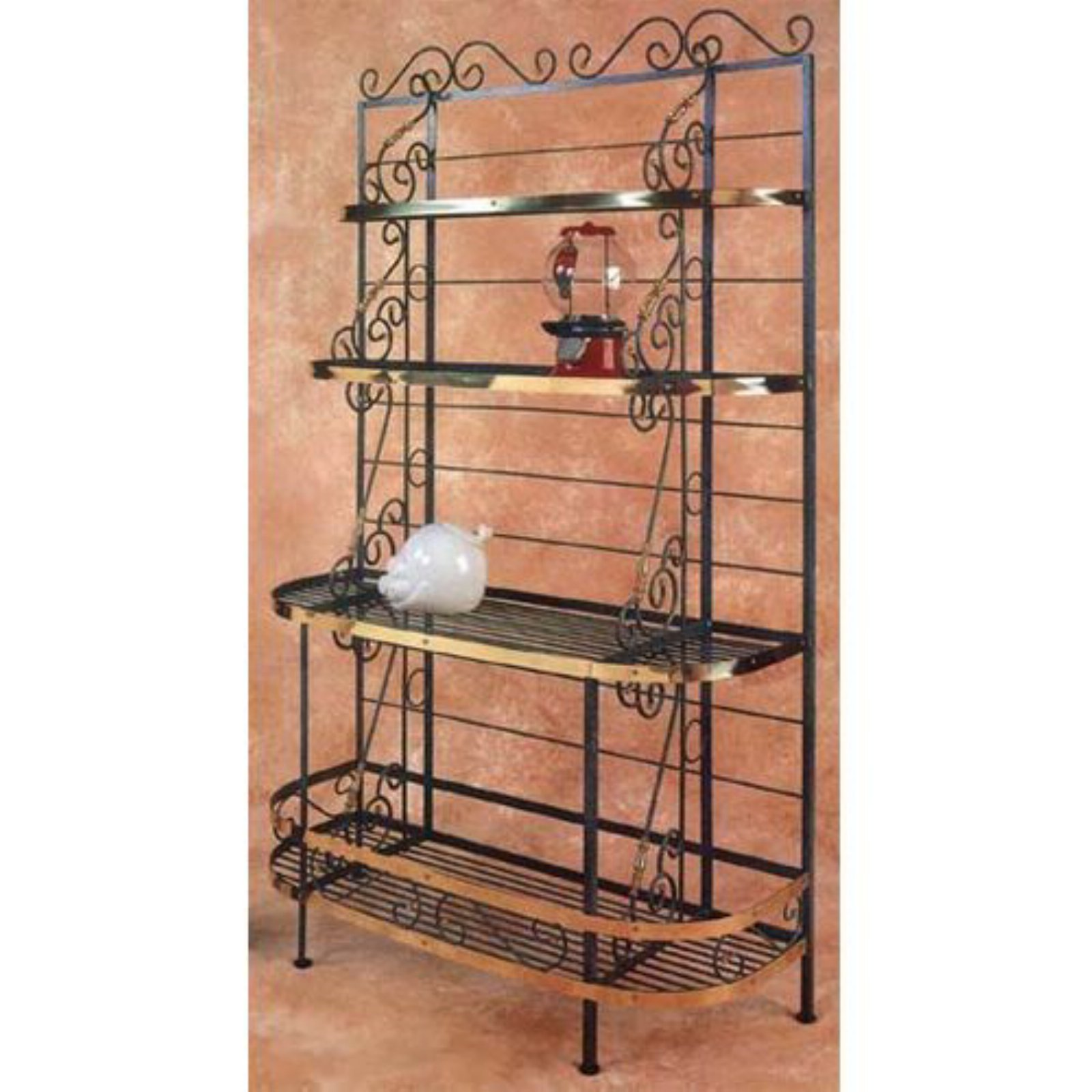 large french bow bakers rack