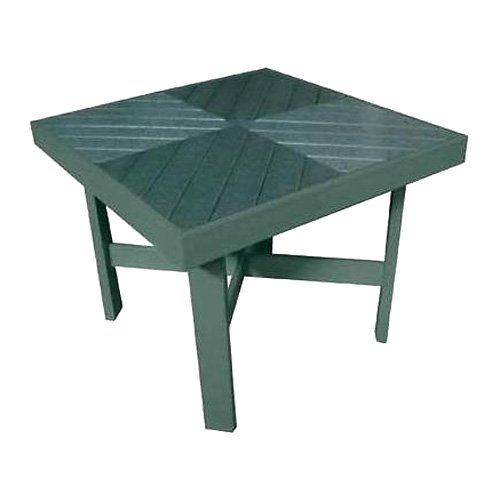eagle one products carmel recycled plastic patio table
