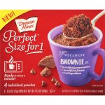 Perfect Size For 1 Mug Cake Mix Ready In About A Minute Chocolate Brownie 4 Individual Pouches Simply Delicious Our Microwave Cakes Are By Duncan Hines Walmart Com Walmart Com