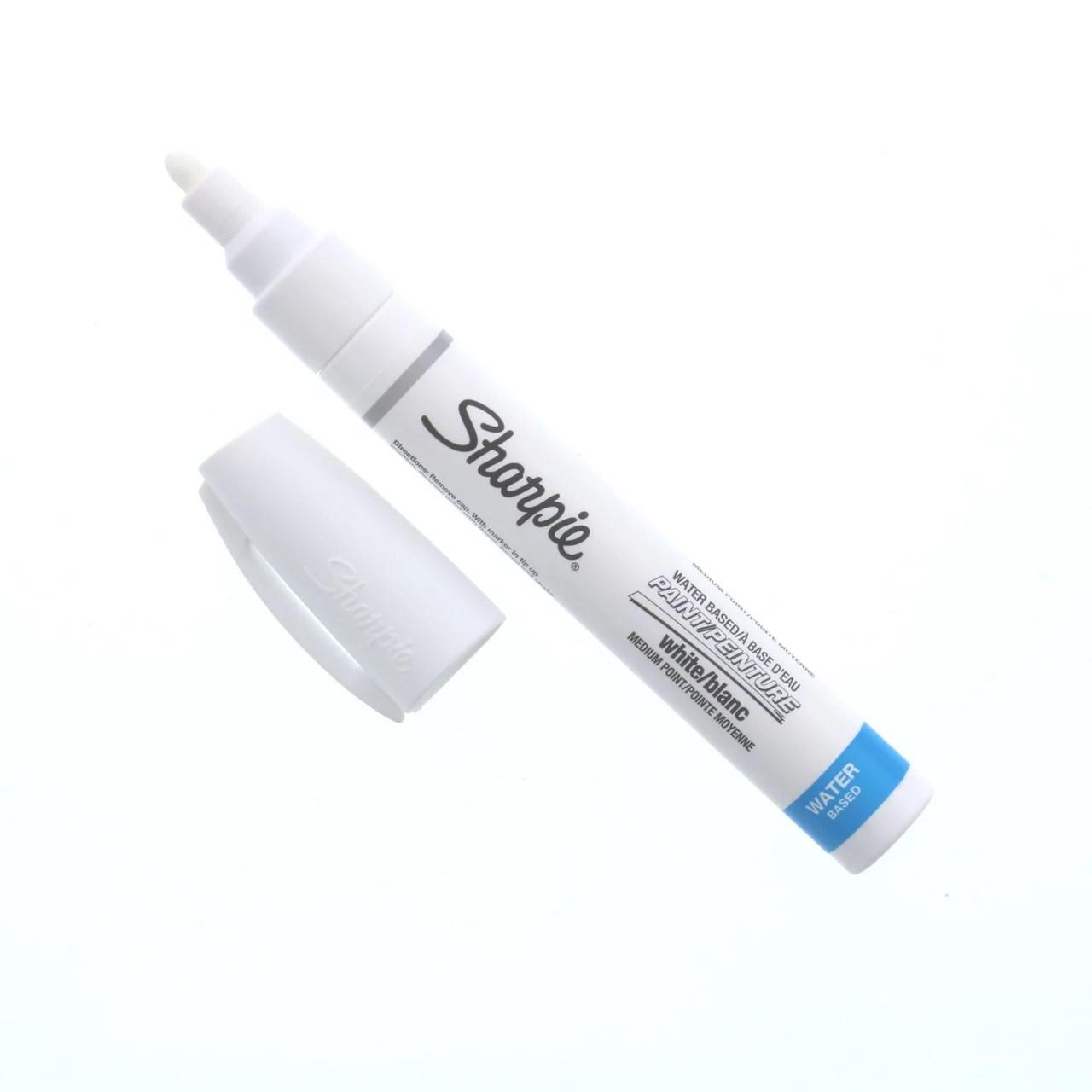 sharpie poster paint marker medium white walmart com