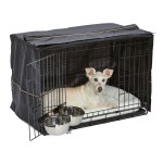 Midwest Dog Crate Starter Kit 30 Double Door Icrate Pet Bed Crate Cover 2 Pet Bowls Walmart Com Walmart Com